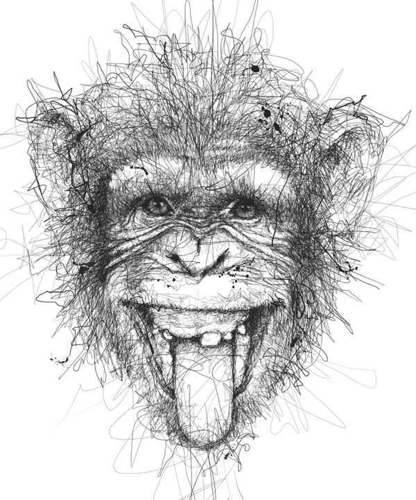 Animal by Vince Low, via Behance