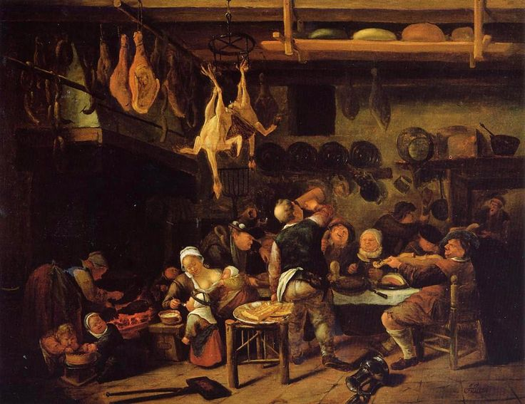Fat Kitchen Jan Steen