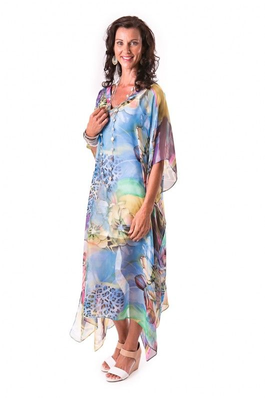 Summer Party Season Australia kaftans online style free-flowing breezy comfort relax luxurious silk