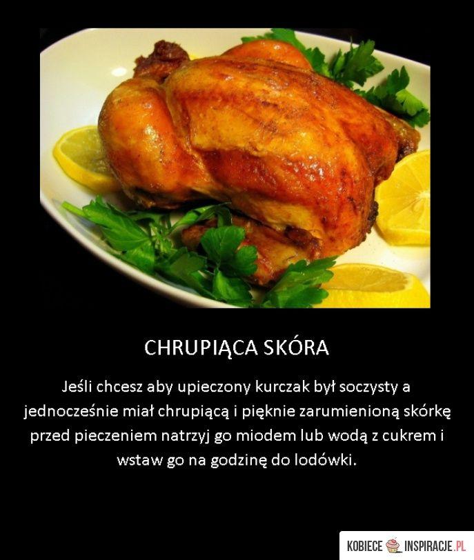 Trik na chrupiącą skórkę kurczaka - Kobieceinspiracje.pl