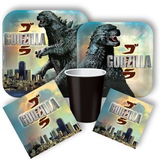 Definitely ordering these from Party City...Godzilla Party Supplies, Birthday Supplies