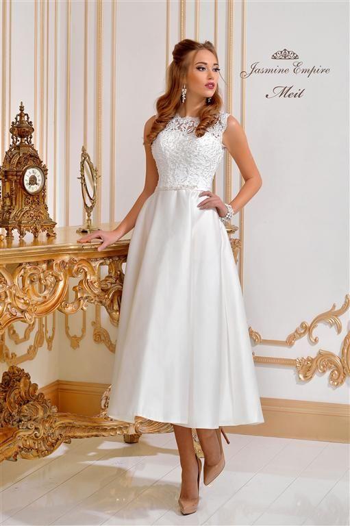 aa20a8dc Brudekjoler WeddingDeluxe en kort brudekjole | brudekjoler ...