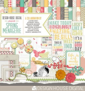 "Free Digital Scrapbooking Kit with Code ""MYDHDMADMARCHMEMORIES"""