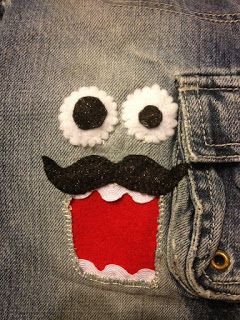 Crafty Night Owls: Mending Holy Jeans~ Fun and Practical !!!