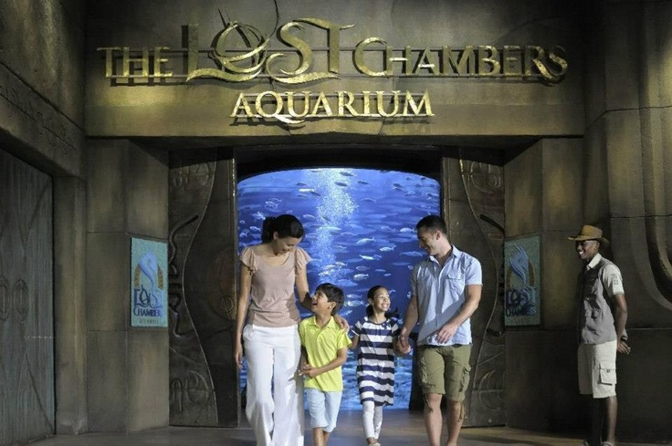 Atlantis The Palm, The Lost Chambers