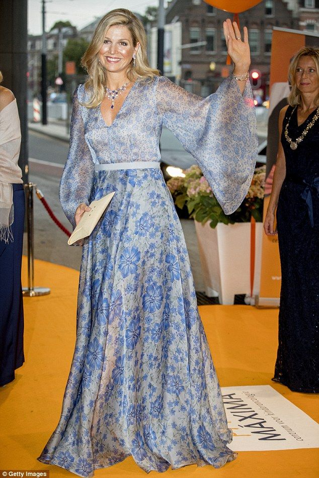 Queen Maxima, 46, attended the benefit gala for thePrincess Maxima Centre for children's oncology