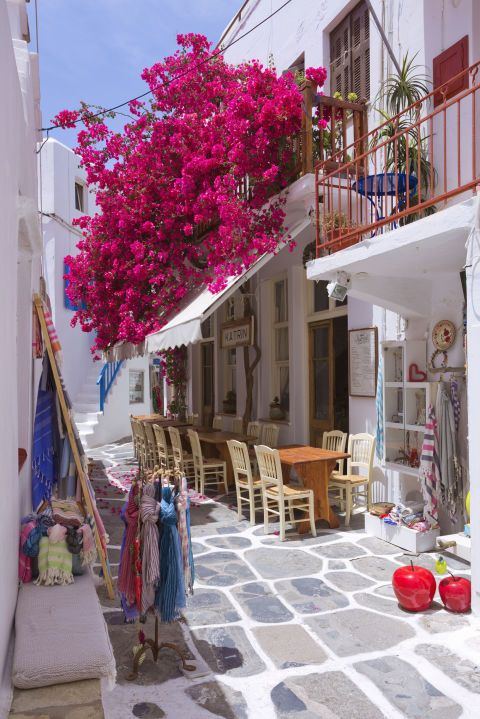 """Thinking about exploring the Greek Isles? If not, maybe you should, and check out the other 9 destinations we labeled """"trips of a lifetime"""":"""