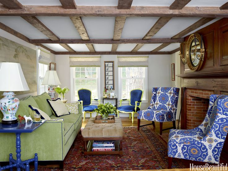 A Vermont Farmhouse With Rooms For Your Every Mood. Designer Living ... Part 80