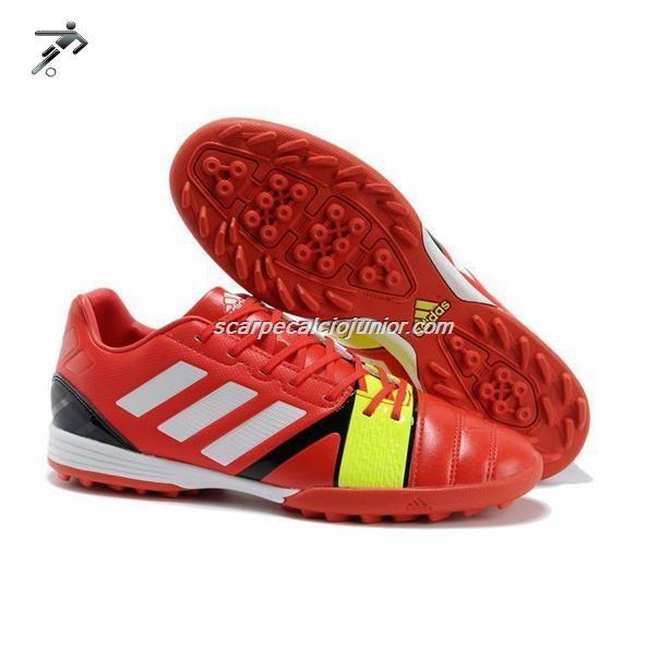 Scarpe Da Calcio Adidas Bambino Nitrocharge 1 Fit TRX TF Bambino Lampard Rosso Bianco Super Cheap