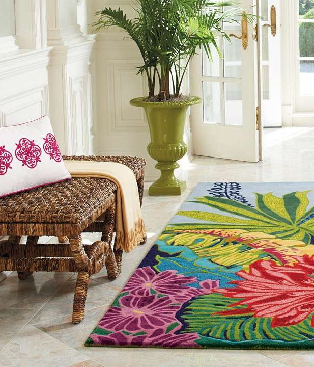 33 Best Rug Images On Pinterest Tropical Design Rugs Rhpinterest: Palm Tree Rugs For Living Room At Home Improvement Advice
