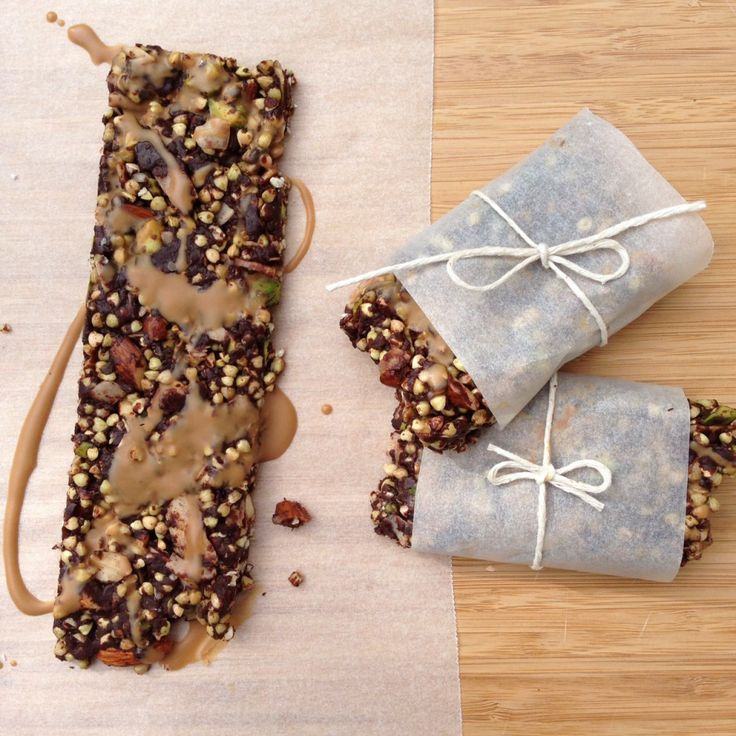 Double Chocolate Crunch Bars from My Whole Food Romance