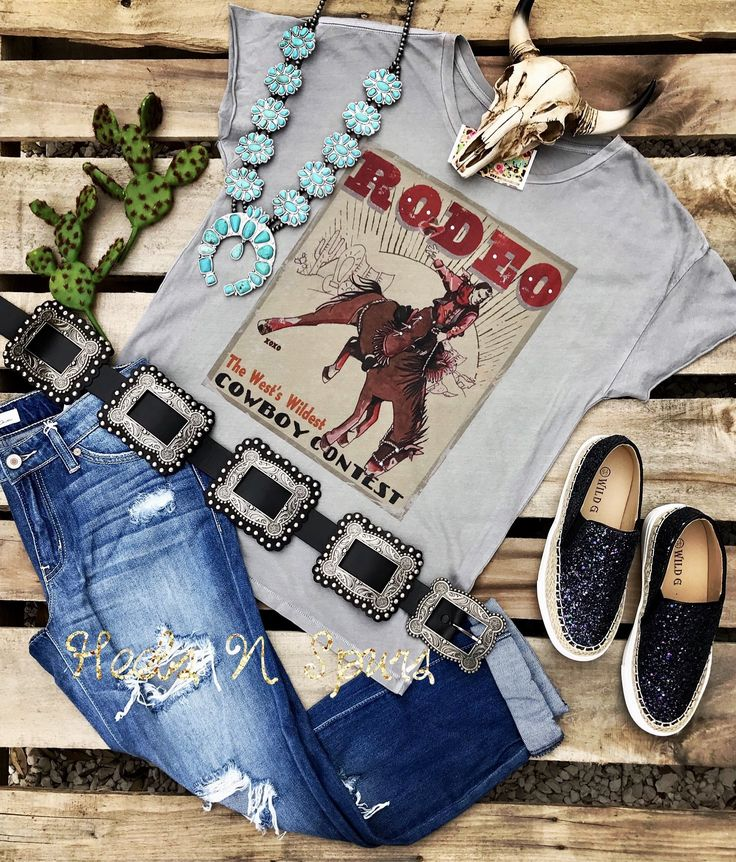 Rodeo Cowboy Contest Tee