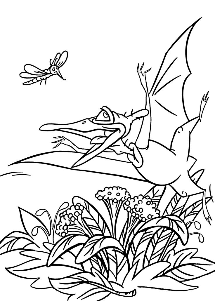 10 best Coloring Pages (The Land Before Time) images on Pinterest ...
