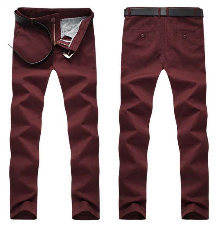 >> Click to Buy << Large Size Summer Style Solid Men bp Pants  6 Colors Straight Full Length Pants Cotton Khaki Pantalones Hombre 2016 New CHOLYL #Affiliate