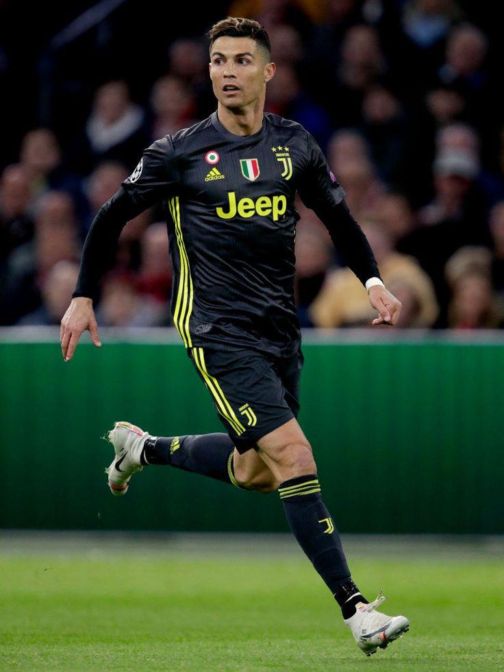 AMSTERDAM, NETHERLANDS - APRIL 10: Cristiano Ronaldo of... 1