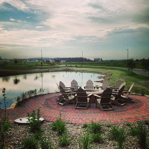 "@Jillian Medford Hiscock's photo: ""Centennial Commons looking gorgeous this morning! #csbsju"""