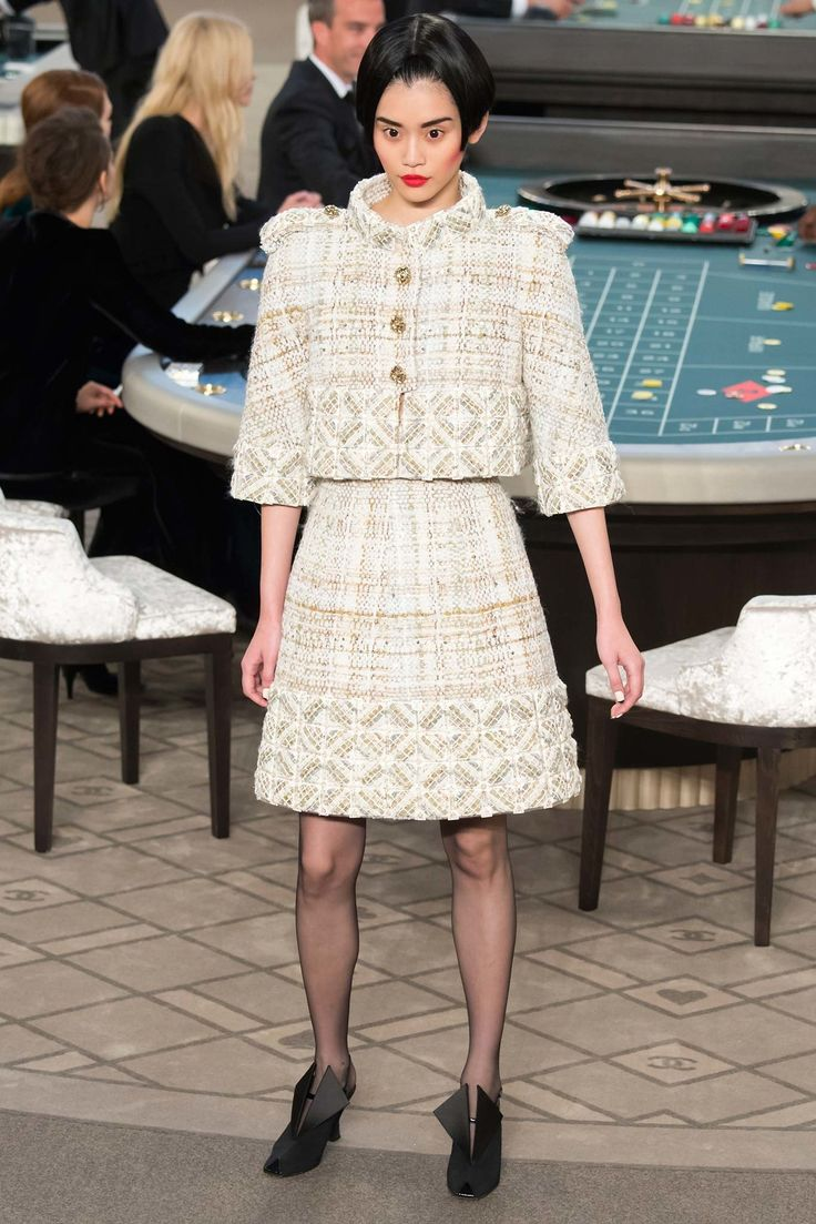 Chanel Fall 2015 Couture Fashion Show - Ming Xi (Elite)