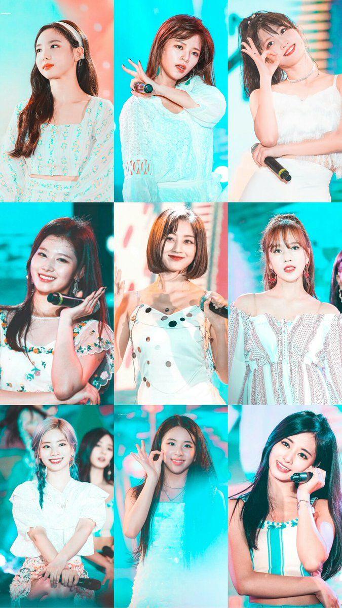 Twice 9 Wallpaper In 2019 Twice Photoshoot Korean Girl