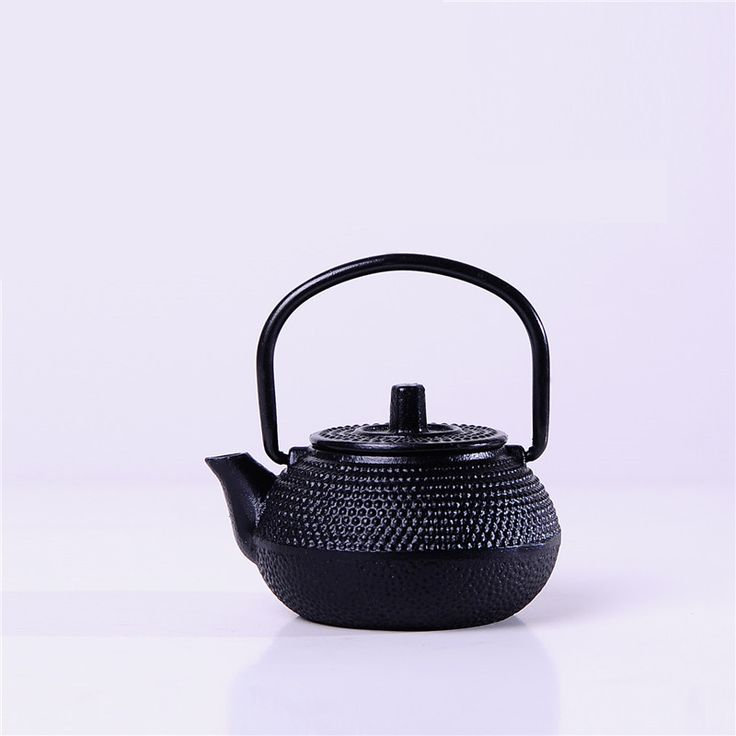 6 pcs New Arrival Tea Pot Set Mini Gift Water Pot style New Year Gift for friends Japanese old tea pot Gold color WW-MT014