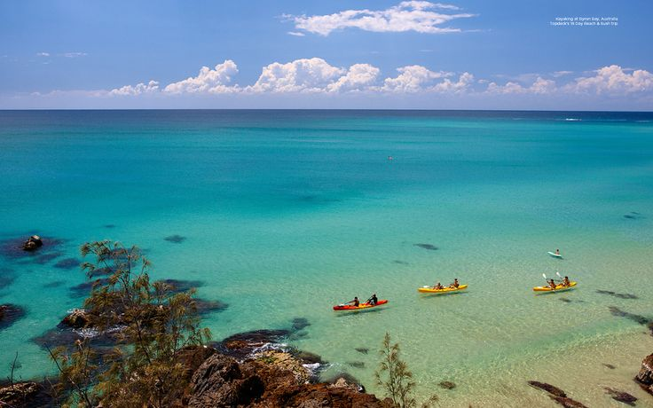 Kayaking In The Bay | 10 Reasons Byron Bay Should Be Your Next Vacation