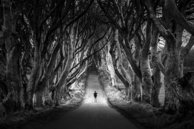 Kuzey İrlanda Karanlık yol