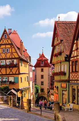 Rothenburg-ob-der Tauber, Germany