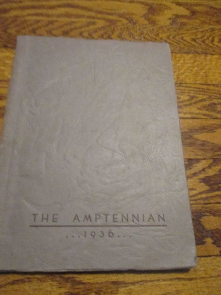 1936 The Amptennian Northampton High School Yearbook PA Pennsylvania Photos