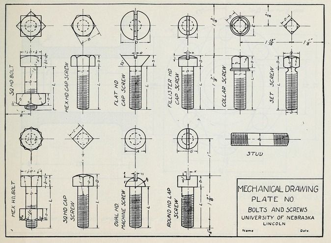 40 best images about mechanical drawings on pinterest for Engineering blueprints