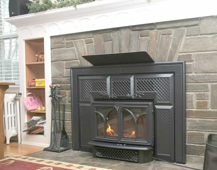 Any Pics Of Mantle Heat Shield Fireplace Heat Fireplace