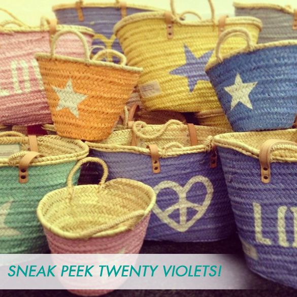 Twenty Violets bags!