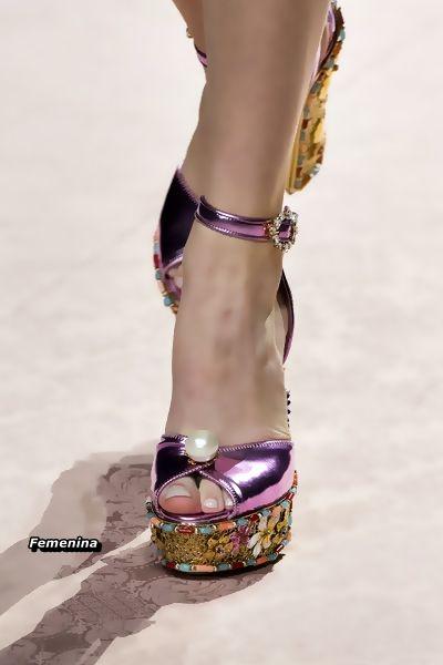 Dolce   Gabbana Spring Summer 2019 -Shoes  50de11fd1e6
