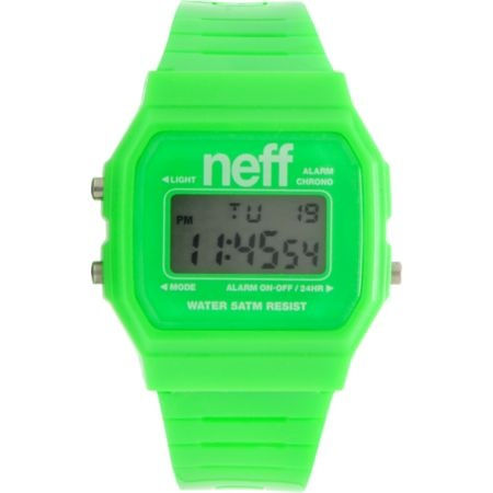 Neff Flava Green Digital Watch $20