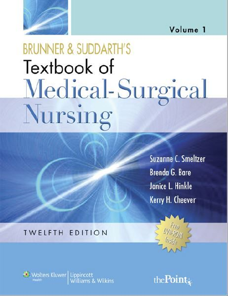 Brunner suddarths textbook of medical surgical nursing 2 volume brunner suddarths textbook of medical surgical nursing 2 volume set 12th edition fandeluxe Image collections