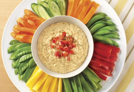 Resolve to make your own hummus at home! Click image for recipe #AldiFresh