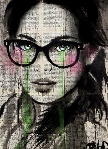 "Saatchi Art Artist Loui Jover; Drawing, ""prudence"" #art"