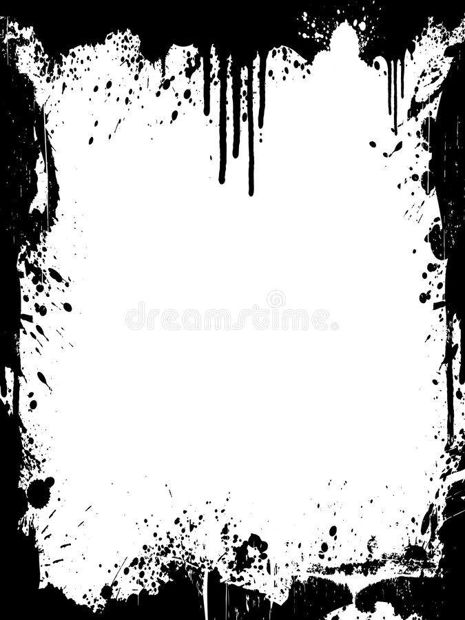 Ink Splatter Grunge Frame Vector Illustration Of A Grunge Ink Splatter Backgrou Sponsored Grunge Frame Ink In 2020 Ink Splatter Splatter Art Black Backdrops