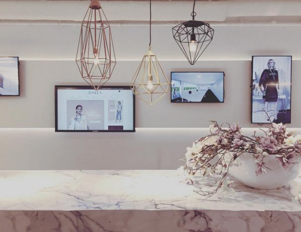 JOSH V | Inspiration | JOSH V HQ #JOSHV #JOSHVHQ #Showroom #Marble #Flowers #Fashion #Fashionlabel