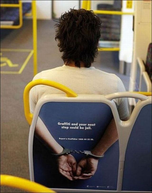 20 Super Creative Subway Ads - Graffiti