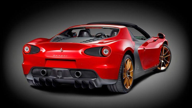 2015 Red Ferrari Sergio 2