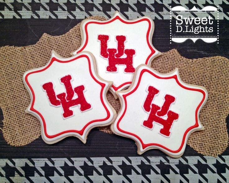 These cookies were a request for a soon-to-be University of Houston graduate!