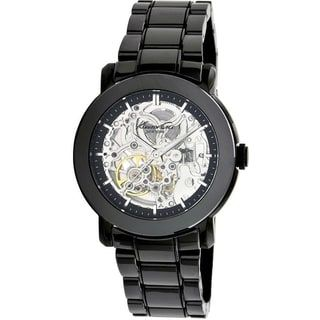 Kenneth Cole New York Black Ceramic Automatic Ladies Watch KC4725 | Overstock.com Shopping - The Best Deals on Nixon Women's Watches