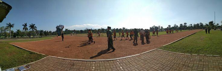 #dukes #dukungankesehatan #senin #31juli2017 #sport #olahraga #tni #tentara #cimahi #lapangan #brigif #brigifcimahi #lapanganbrigifcimahi #jogging #running #pullup #situp