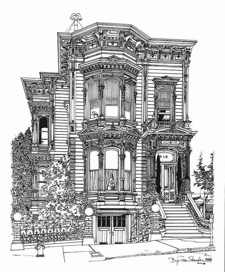 San Francisco Victorian In 2019 Streets Of San Francisco