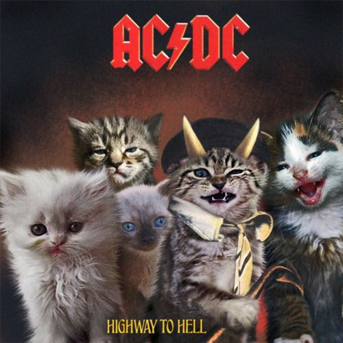 #86bavaria AC/DC Highway To Hell Funny Cover Album http://www.bavaria86.com/