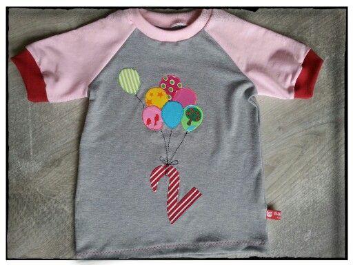Geburtstags t-shirt Luftballon