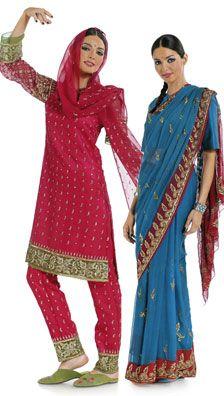 Burda 7701 from Burda patterns is a Lady of India sewing pattern