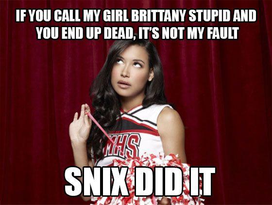 10 Sassy Santana Lopez Memes All Diehard Glee Fans will ...