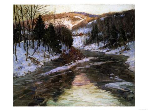 Winter Stream...Robert Blum