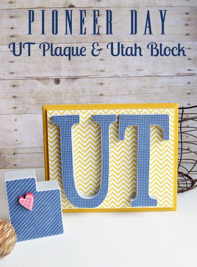 Utah Pioneer Day Crafts