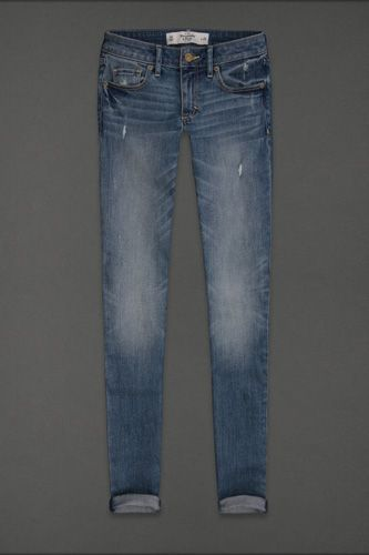 """The Petite Skinny Jean — Abercrombie & Fitch knows how to treat a little lady like an adult — that means sophisticated washes, shorter inseams, no flashy pockets, a modest rise, and a close fit that's sexy (but not scandalous).     Abercrombie & Fitch Skinny Jean, $39, """